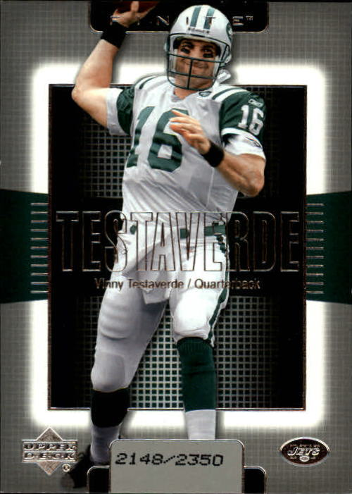 2003 Upper Deck Finite #98 Vinny Testaverde