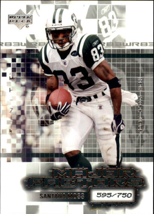 2003 Upper Deck Finite #137 Santana Moss MF