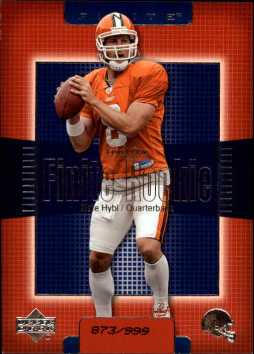 2003 Upper Deck Finite #209 Nate Hybl RC