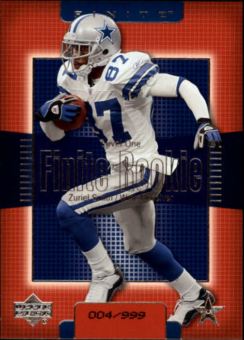 2003 Upper Deck Finite #238 Zuriel Smith RC