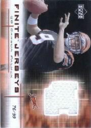 2003 Upper Deck Finite Jerseys #FJCP Carson Palmer
