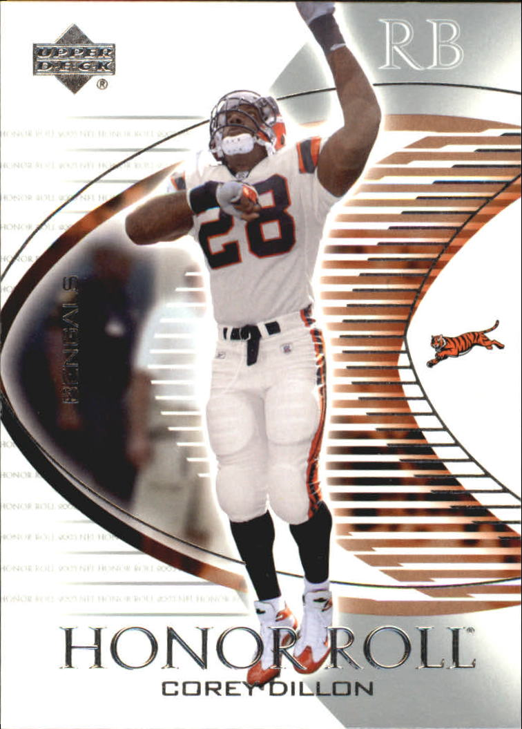 2003 Upper Deck Honor Roll #1 Corey Dillon