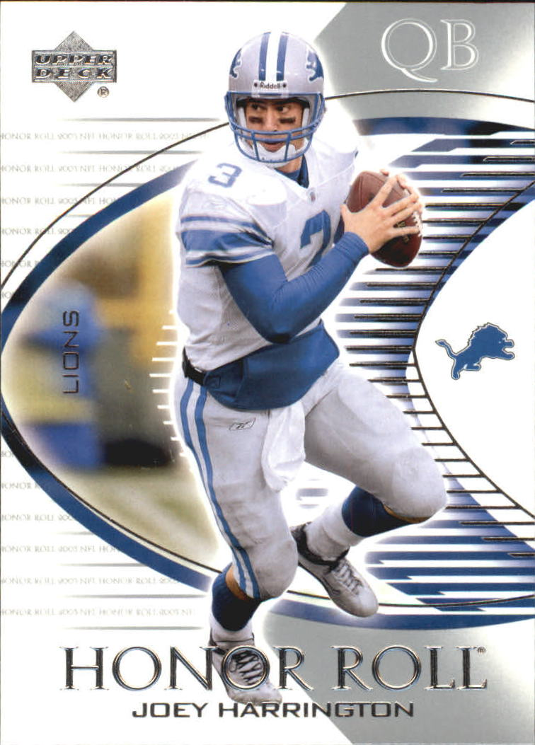 2003 Upper Deck Honor Roll #4 Joey Harrington