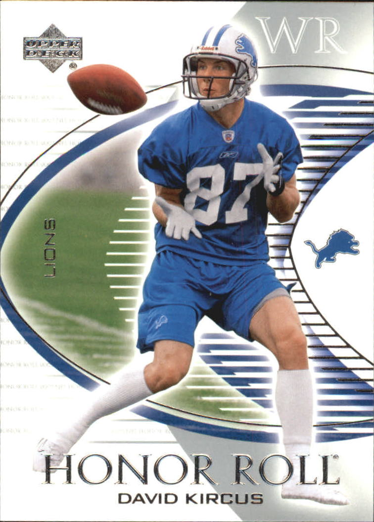 2003 Upper Deck Honor Roll #6 David Kircus RC