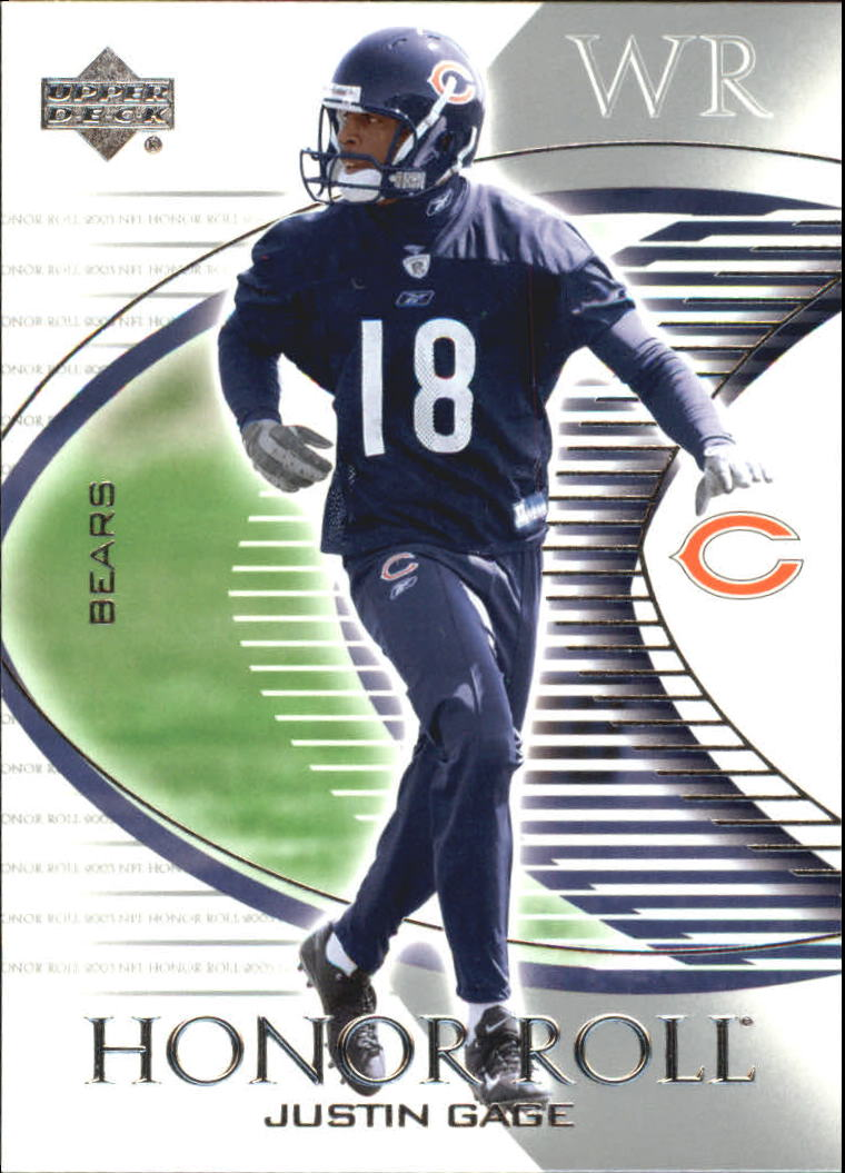 2003 Upper Deck Honor Roll #11 Justin Gage RC