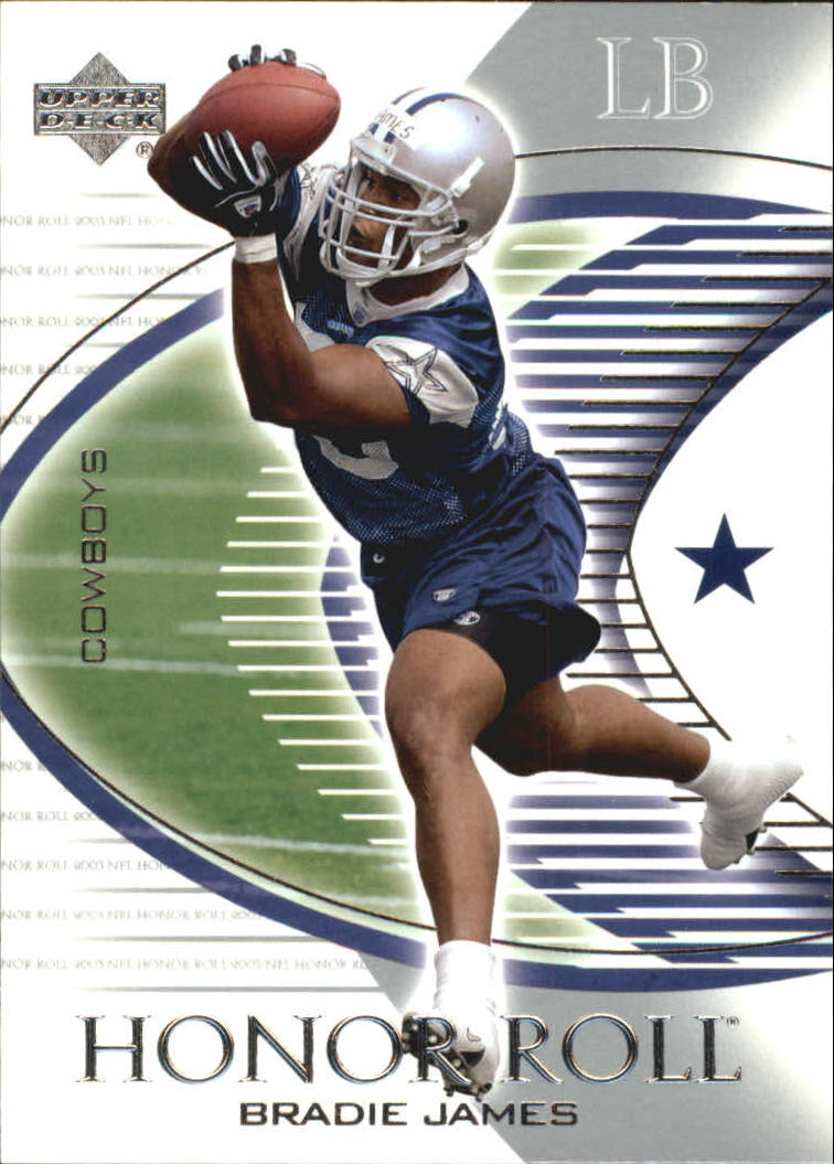 2003 Upper Deck Honor Roll #16 Bradie James RC