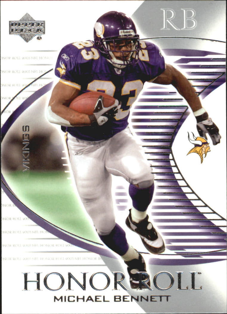 2003 Upper Deck Honor Roll #21 Michael Bennett