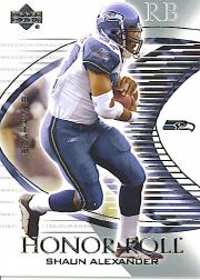 2003 Upper Deck Honor Roll #34 Shaun Alexander