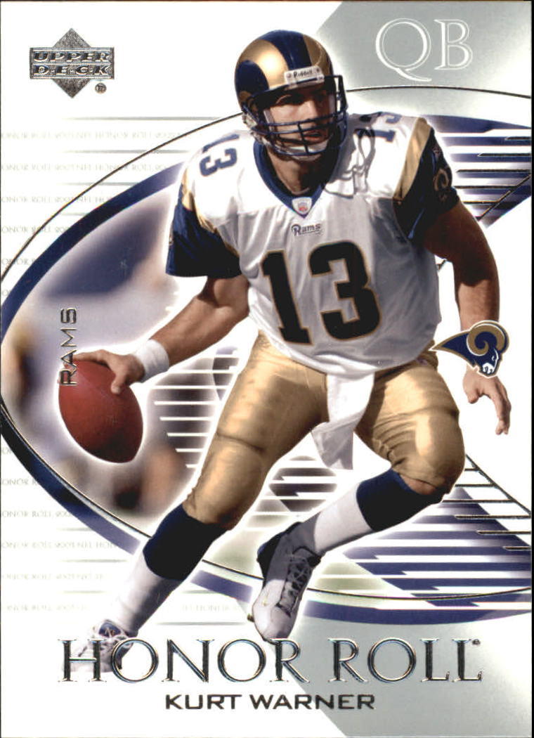 2003 Upper Deck Honor Roll #36 Kurt Warner