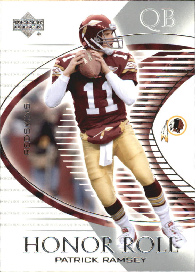 2003 Upper Deck Honor Roll #39 Patrick Ramsey