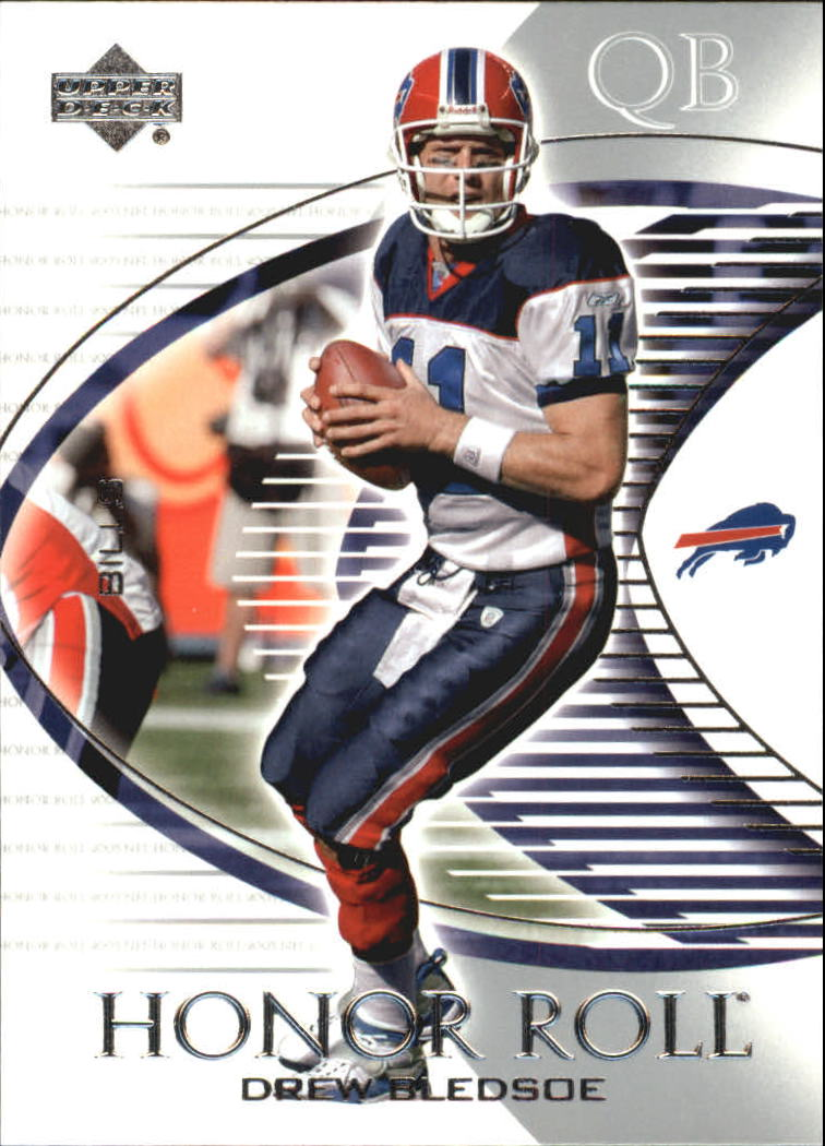 2003 Upper Deck Honor Roll #42 Drew Bledsoe