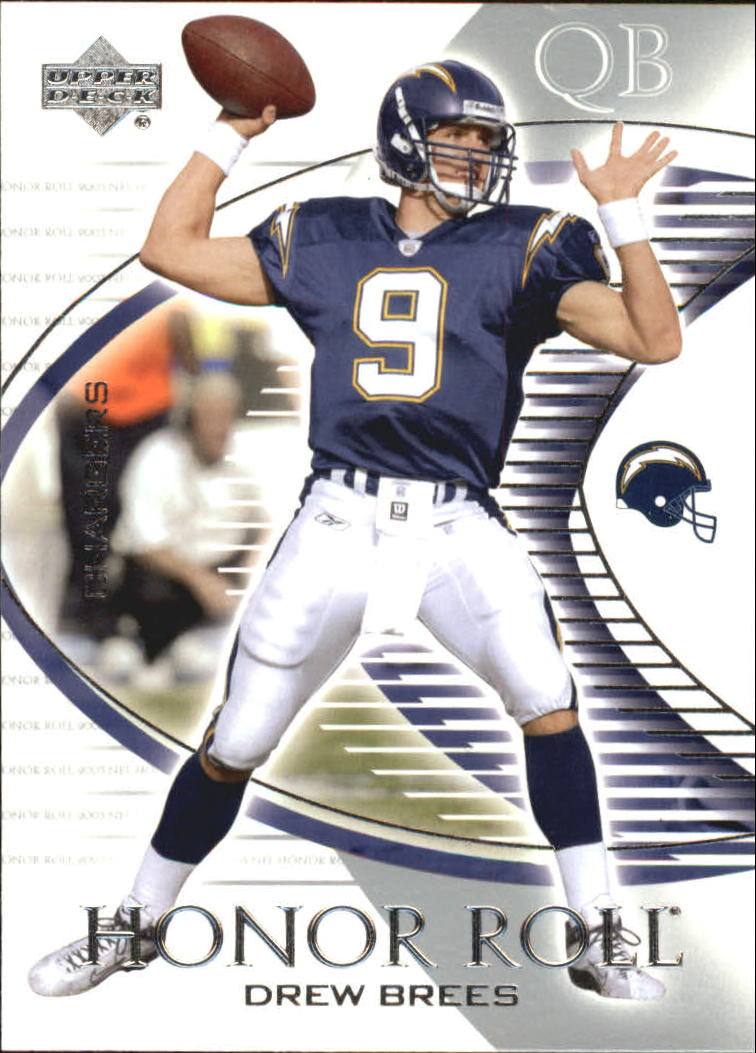 2003 Upper Deck Honor Roll #45 Drew Brees