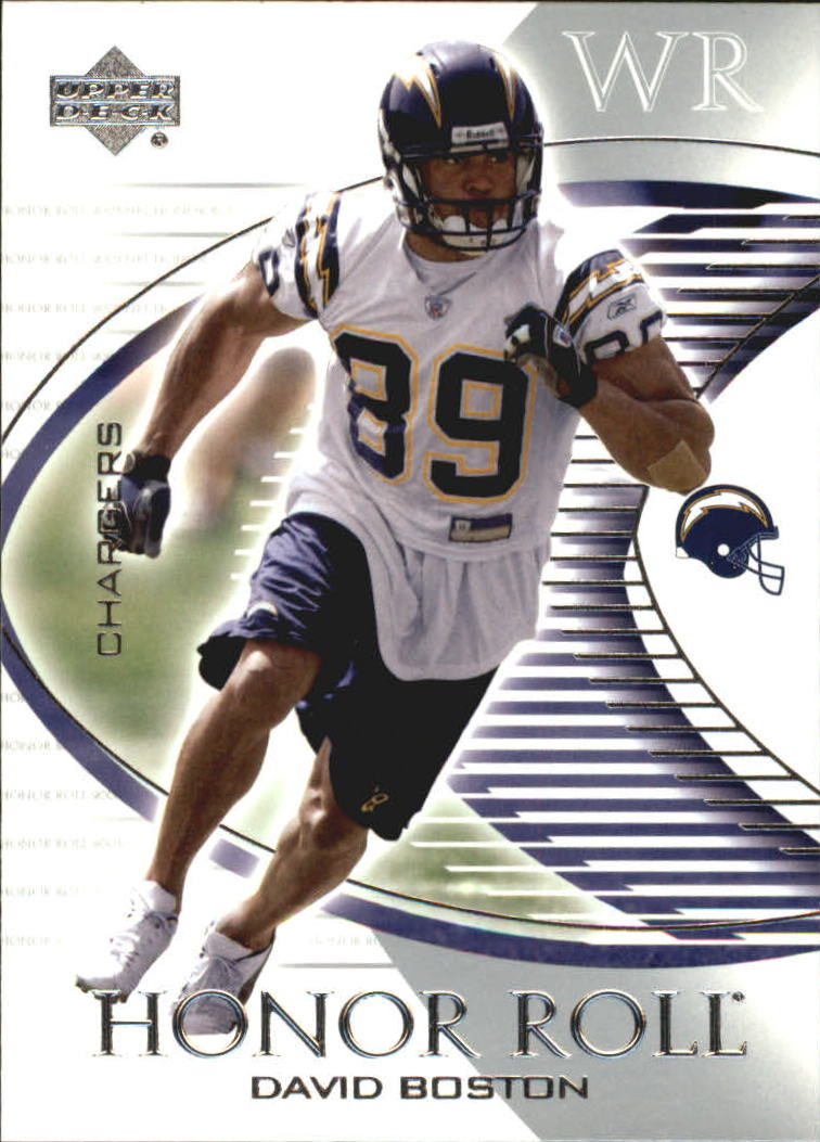 2003 Upper Deck Honor Roll #46 David Boston