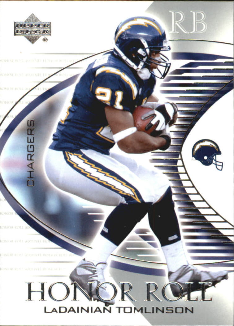 2003 Upper Deck Honor Roll #47 LaDainian Tomlinson