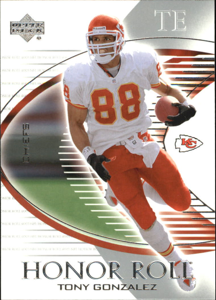 2003 Upper Deck Honor Roll #50 Tony Gonzalez
