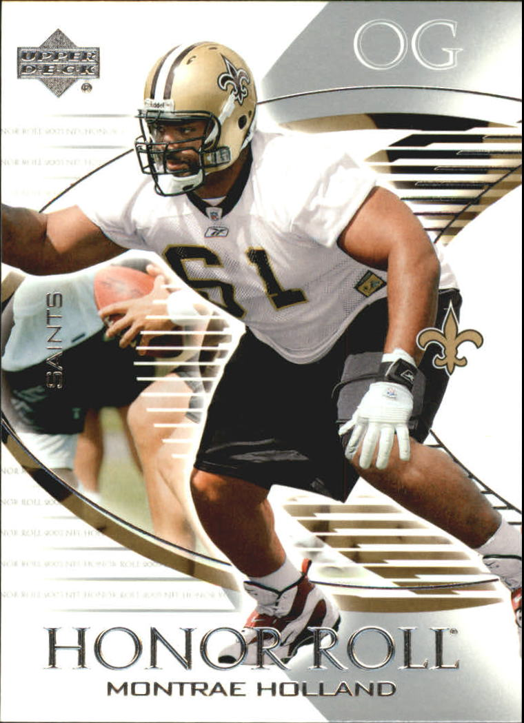 2003 Upper Deck Honor Roll #54 Montrae Holland RC