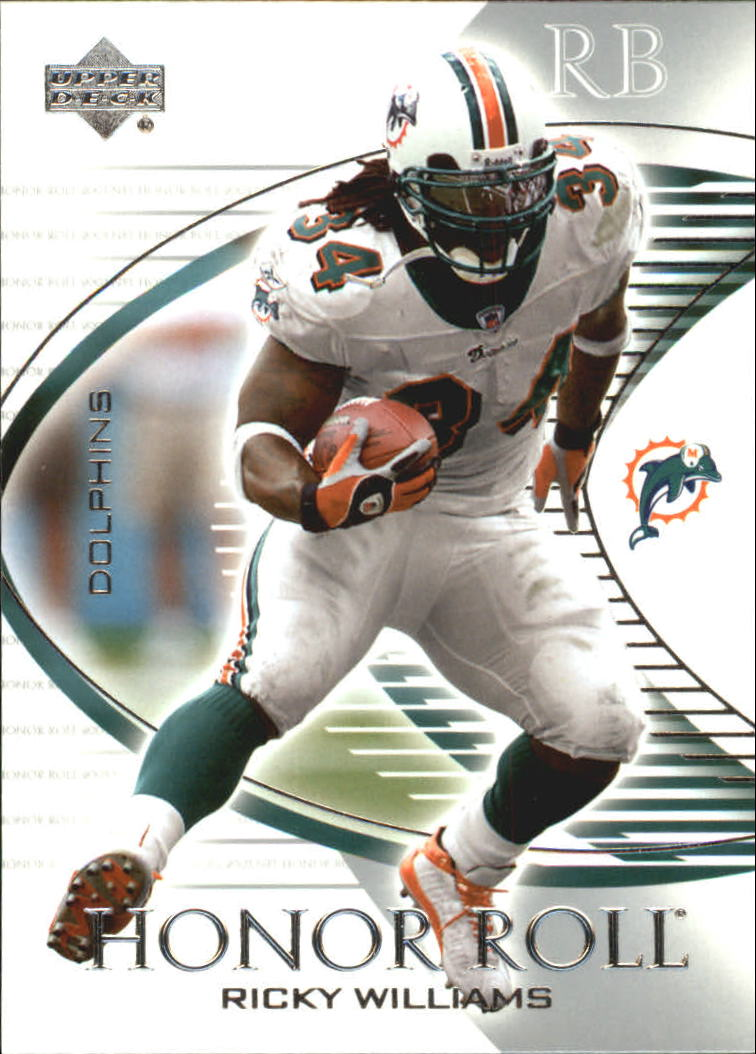 2003 Upper Deck Honor Roll #58 Ricky Williams