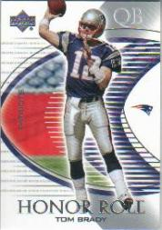2003 Upper Deck Honor Roll #59 Tom Brady