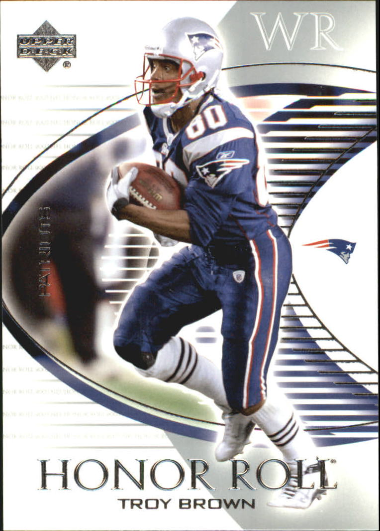 2003 Upper Deck Honor Roll #60 Troy Brown