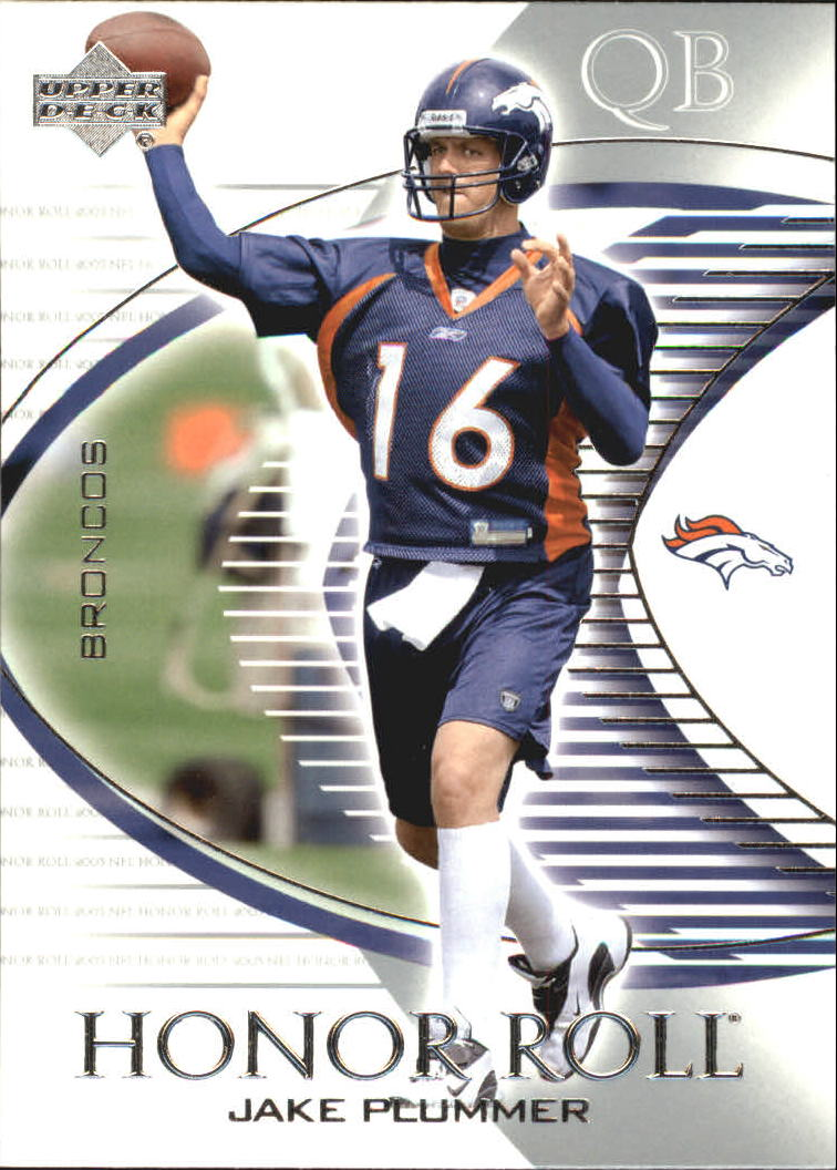 2003 Upper Deck Honor Roll #62 Jake Plummer