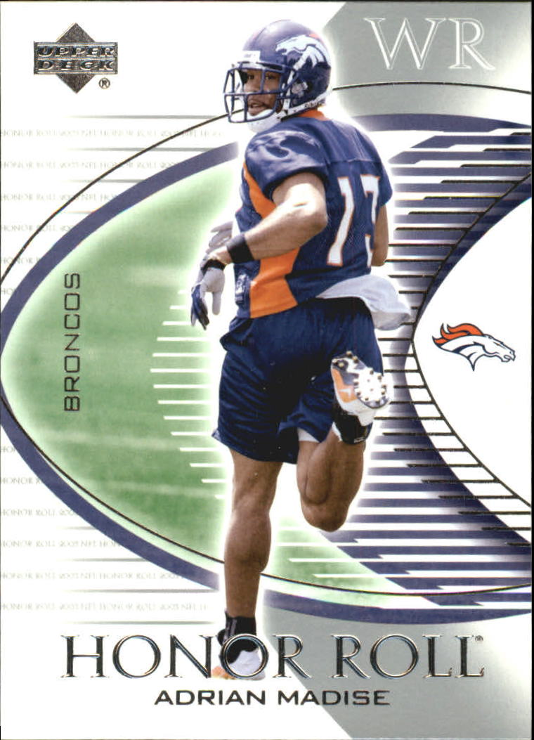 2003 Upper Deck Honor Roll #64 Adrian Madise RC