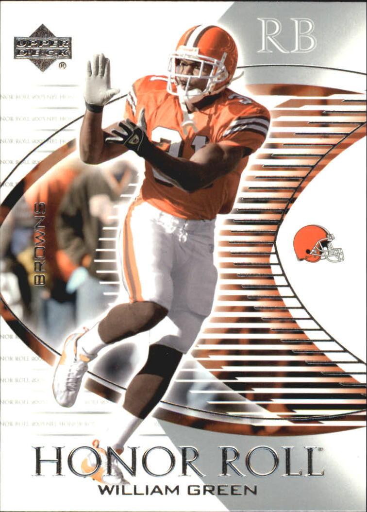 2003 Upper Deck Honor Roll #66 William Green