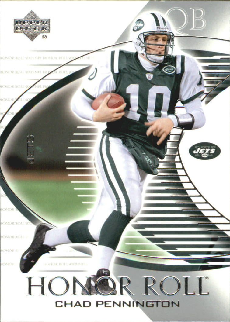 2003 Upper Deck Honor Roll #68 Chad Pennington