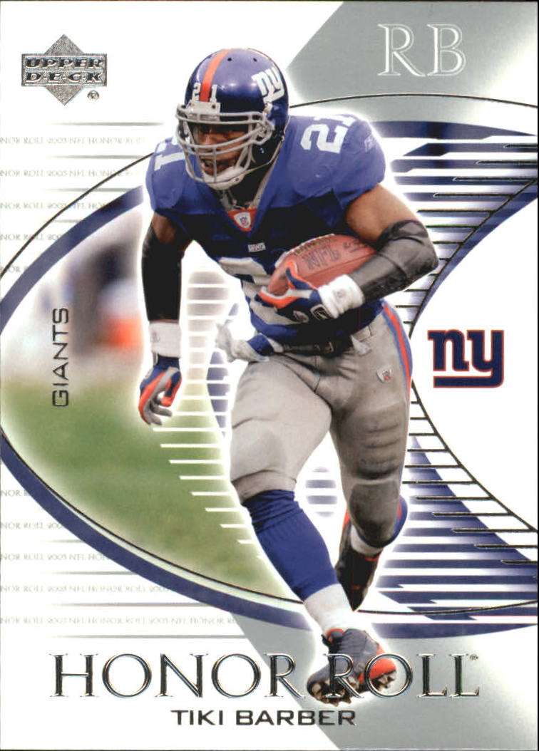 2003 Upper Deck Honor Roll #78 Tiki Barber