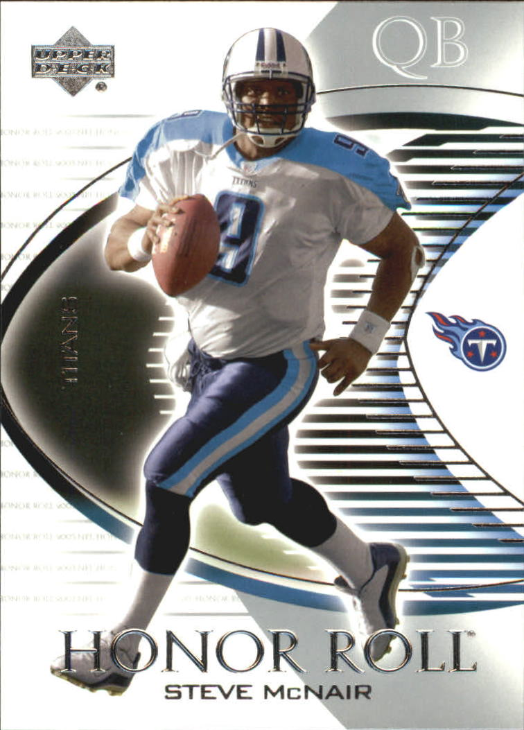 2003 Upper Deck Honor Roll #86 Steve McNair