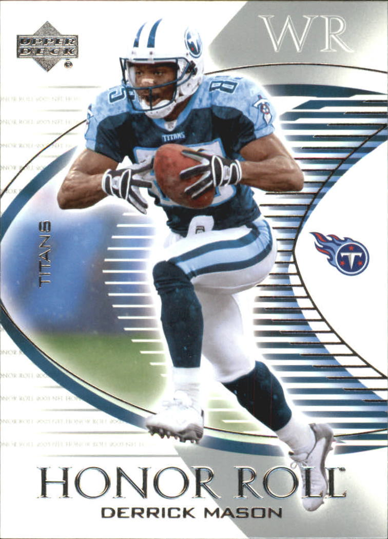 2003 Upper Deck Honor Roll #88 Derrick Mason