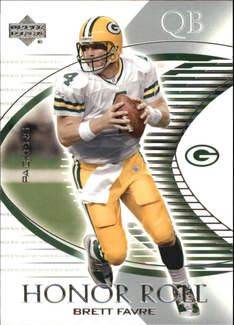 2003 Upper Deck Honor Roll #89 Brett Favre