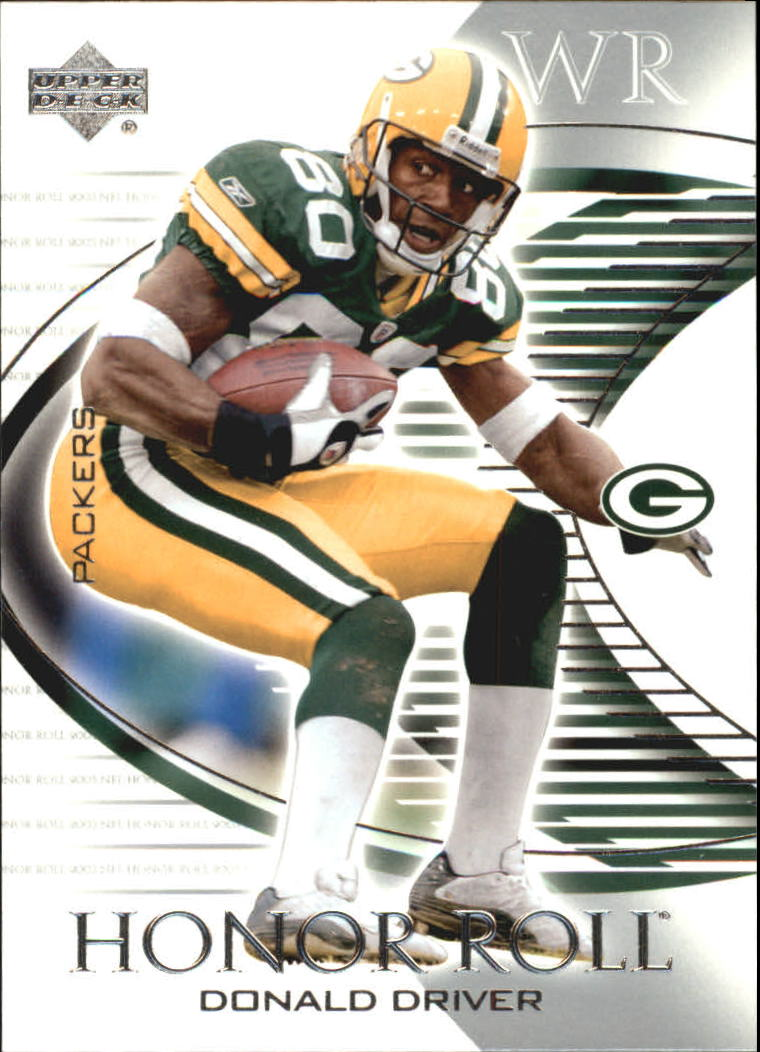 2003 Upper Deck Honor Roll #91 Donald Driver