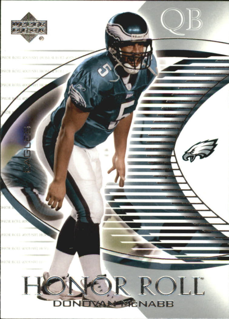 2003 Upper Deck Honor Roll #92 Donovan McNabb