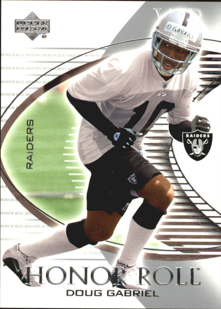 2003 Upper Deck Honor Roll #128 Doug Gabriel SP RC
