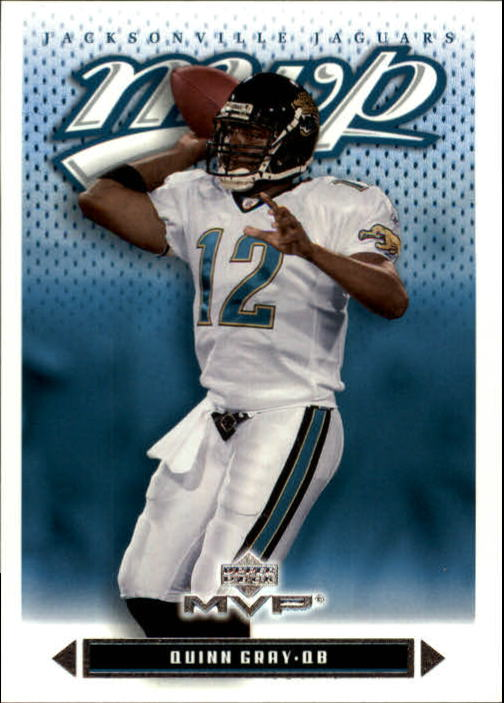 2003 Upper Deck MVP #258 Quinn Gray