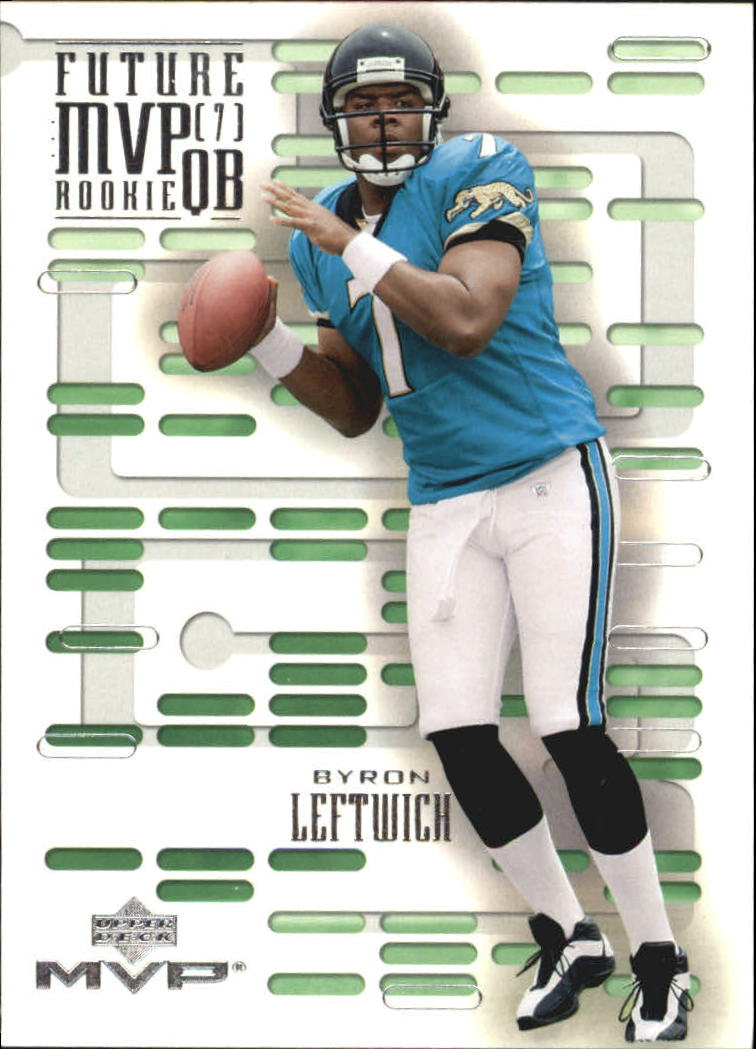 2003 Upper Deck MVP Future MVP #QB2 Byron Leftwich