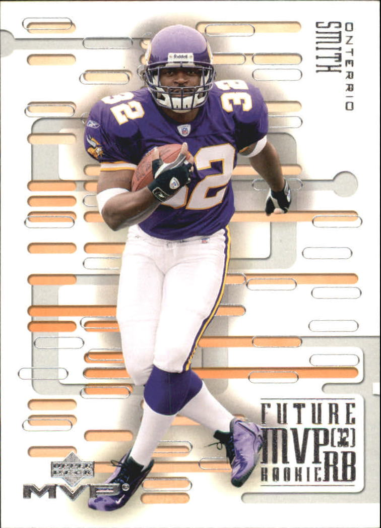 2003 Upper Deck MVP Future MVP #RB3 Onterrio Smith