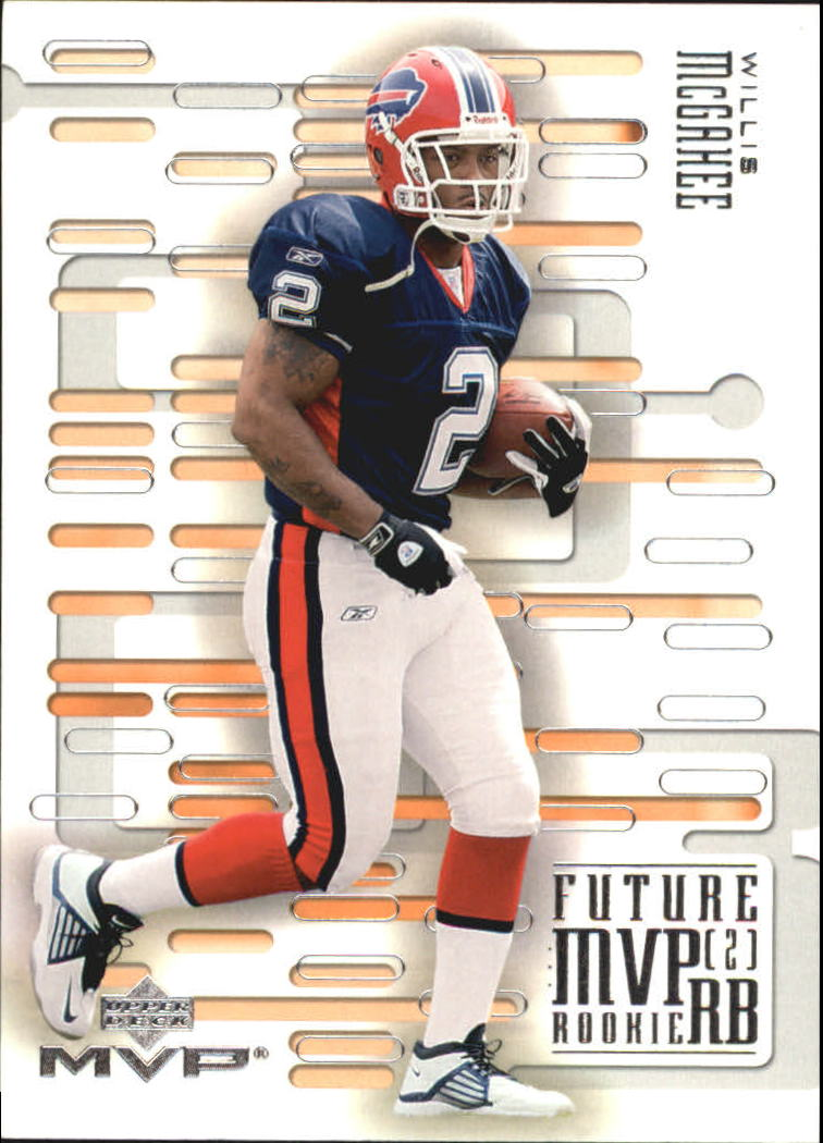 2003 Upper Deck MVP Future MVP #RB4 Willis McGahee
