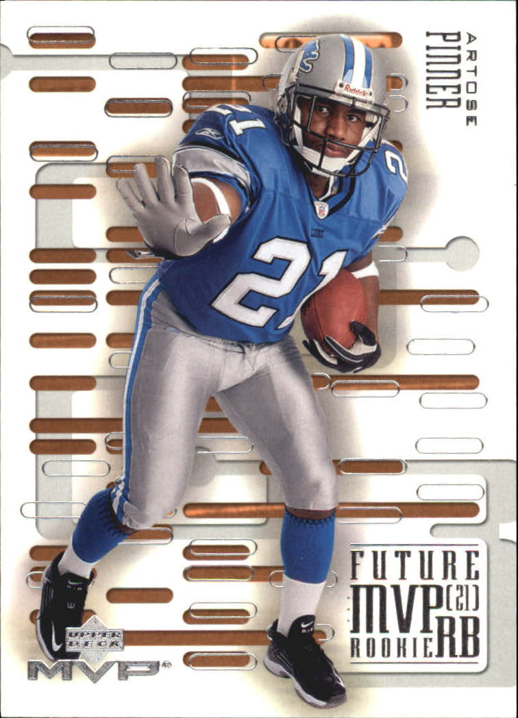 2003 Upper Deck MVP Future MVP #RB11 Artose Pinner