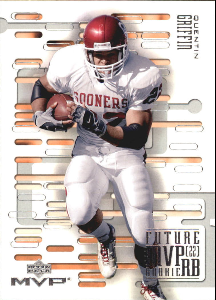 2003 Upper Deck MVP Future MVP #RB14 Quentin Griffin