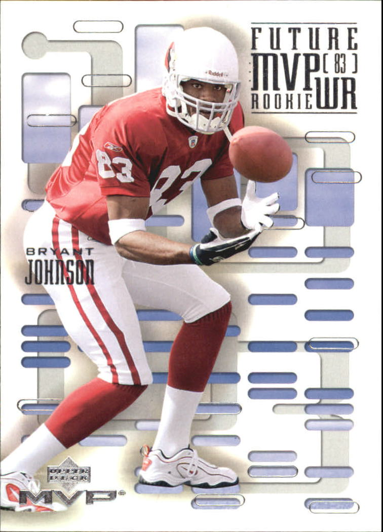 2003 Upper Deck MVP Future MVP #WR6 Bryant Johnson