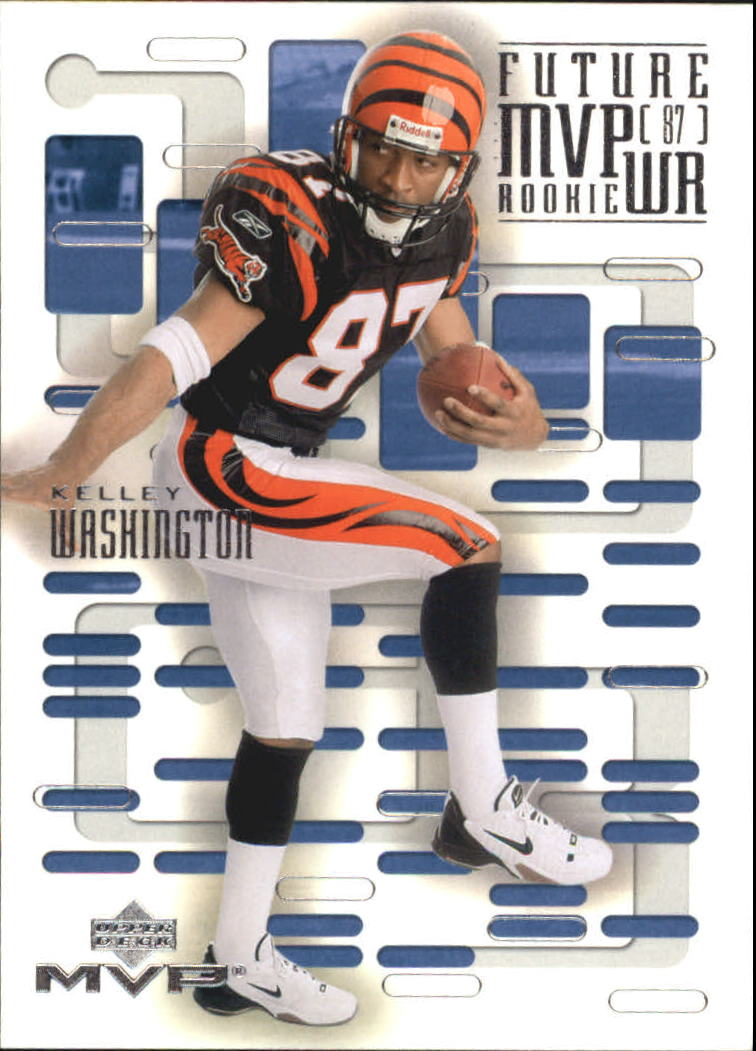 2003 Upper Deck MVP Future MVP #WR7 Kelley Washington