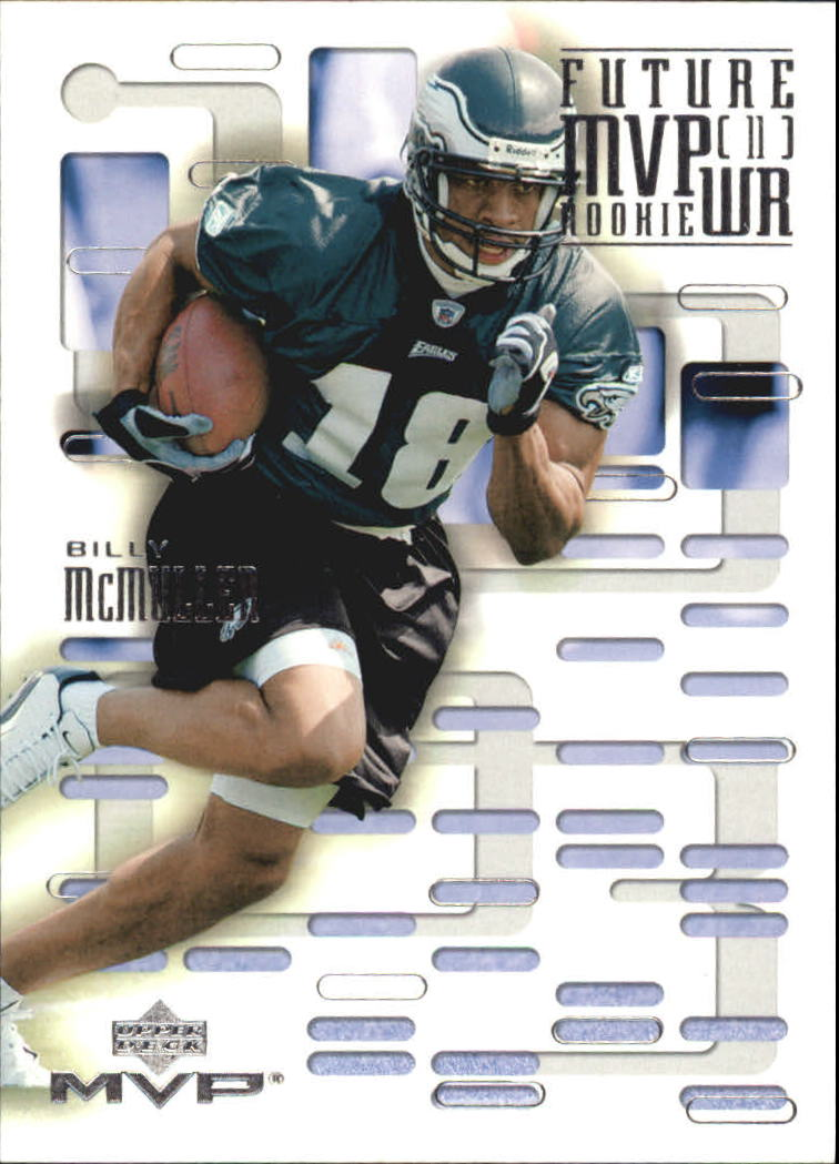 2003 Upper Deck MVP Future MVP #WR12 Billy McMullen