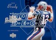 2003 Upper Deck Pros and Prospects #107 Tom Brady SP