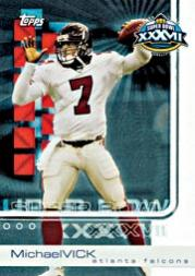 2003 Topps Super Bowl XXXVII Card Show #14 Michael Vick