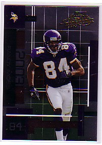 2003 Absolute Memorabilia #75 Randy Moss
