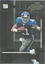 2003 Absolute Memorabilia #80 Tiki Barber