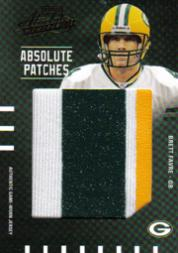 2003 Absolute Memorabilia Absolute Patches #AP1 Brett Favre
