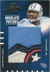 2003 Absolute Memorabilia Absolute Patches #AP20 Steve McNair