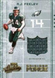 2003 Absolute Memorabilia Gridiron Force #GF1 A.J. Feeley
